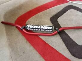 Rental Motorcycle / Motorcross handle bars in red..