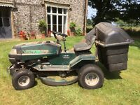 Hayter Heritage 12/30 Ride on Mower Works well Annually Serviced.