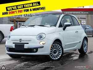 2017 Fiat 500c Lounge | BLUETOOTH | CONVERTIBLE | HEATED LEATHER