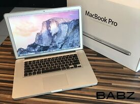 Apple Macbook Pro Intel i7 Quad Core 2.5Ghz - 256GB SSD/4GB Ram - Adobe CS6/Final Cut/Logic Pro X