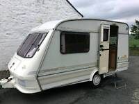 Elddis Whirlwind 2 Berth Caravan , Excellent condition , Awning + Accessories included
