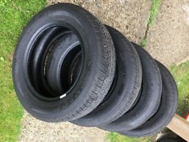 Dunlop Tyres / Tires - Made in USA - 195/65R15 - Very Low Miles