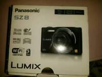 Panasonic Lumix SZ8 WiFi camera