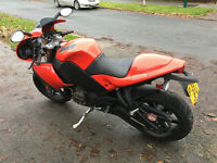 Buell 1125 R For Sale or Swap with Triumph T140 Bonneville Jubilee only 1600 miles
