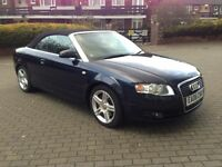 AUDI A4 SPORT TURBO AUTO CONVERTIBLE FULL SERVICE HISTORY 2 OWNER.