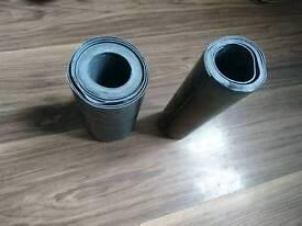Lead flashing rolls x2