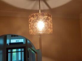 Glass light fittings