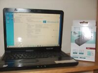 Packard Bell Core Duo Laptop (wi fi ready and free Delivery)