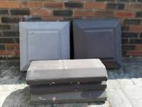 Pillar caps and wall copings for sale