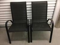 2 GARDEN CHAIRS. Free delivery!!!