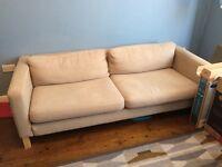 FREE 2 sofas Ikea beige