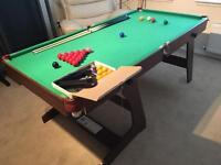 Snooker/Pool table 6x3 BNIB