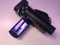 Sony Handycam FDR-AX100E 20.9 MP Camcorder 4K