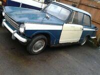 Triumph herald classic car