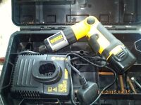 dewalt screwdriver needs battery