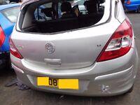 BREAKING --- Vauxhall Corsa Design 1.4L Petrol 90BHP -------- 2008