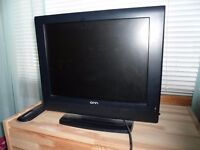 Two small LCD Tv's With Remotes