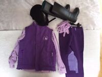 Barely used, full childrens horse riding outfit