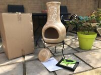 Clay Santiago Chimenea Medium BNIB