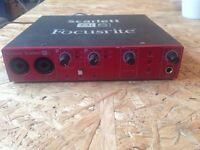 Focusrite 8i6 Audio Interface