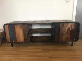 Industrial Tv stand.