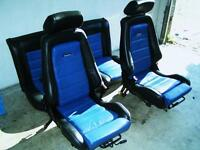 Recaro leather seat. VW golf mk3