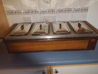 Ekco Hostess Table Top Electric Food Warmer