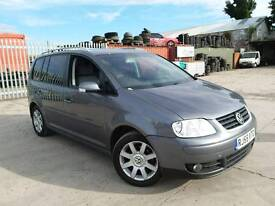 VW TOURAN 7 SEATER DVD 6 SPEED