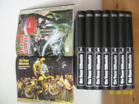 ON TWO WHEELS CLASSIC BIKE MAGAZINE FULL SET 8 VOLUMES