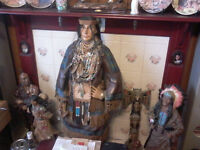 american indians ornaments