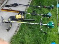 Petrol Gardening tools