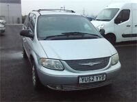 2002 CHRYSLER GRAND VOYAGER - FSH - FREE DELIVERY - WARRANTY AVAILABLE