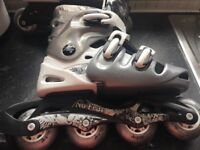 Skates - Inline White and Black good condition