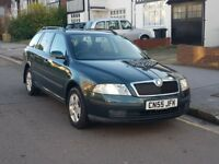 SKODA OCTAVIA ESTATE 1,9 TDI EXCELLENT CONDITION LONG MOT, DRIVES LIKE NEW,FULL SERVICE HISTORY!!!
