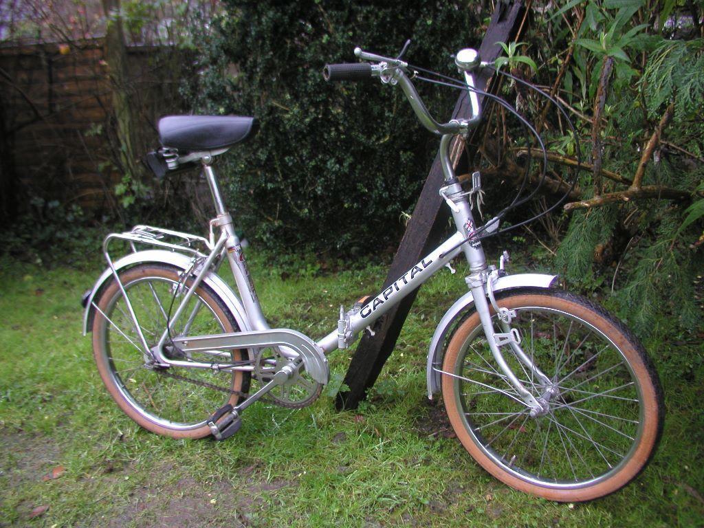 Vintage Folding Bike Capital Chelsea 3 Speed Superb