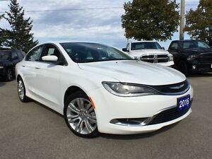 2016 Chrysler 200 COURTESY CAR*CLEARANCE PRICED*ONLY 4142 KMS*LI