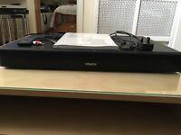 Denon DHT-T110 Bluetooth Speaker Base for TV - Black