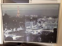 Paris photo by Jean-Marc Charles for Ikea £10 as new frame NO OFFERS