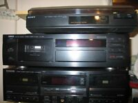 Record-CD-Tape decks