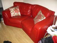 Italian Leather Modular Sofa