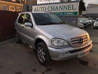 Mercedes-Benz M Class 2.7 ML270 CDI 5dr£2,990 p/x welcome SATELLITE NAVIGATION, NEW MOT