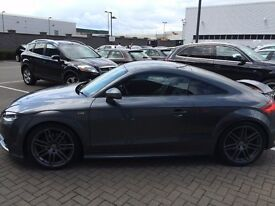 Audi TT S Line Black Edition 2011(61) 2.0 T FSI (211 PS) Special Edition S Tronic Daytona Grey Pearl
