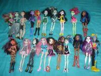 20 Monster High Dolls SALE OR SWAP