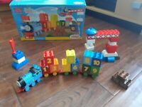 Mega Blocks Thomas And Friends 123 Count With Thomas Learning Train
