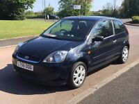 FORD FIESTA STYLE FACE LIFT MODEL 1.2 2007 56 REG LOW MILEAGE AT 57000 3 DOOR RUNS WELL P/X WELCOME
