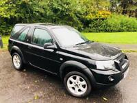 *BLACK FRIDAY DEAL* REDUCED FROM £1495 TO £1295 ONO LAND ROVER FREELANDER SPECIAL EDITION 1.8 XEI