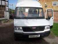 LDV Minibus 12 months mot, low miles 82000,minibus,no advisories , drives great,