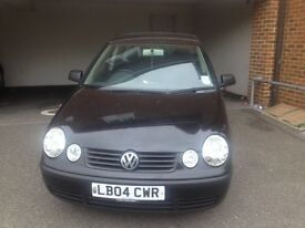 Volkeswagon Polo 1.2 Black 5 Door Manual