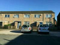 Council three bedroom house to swap ( le4 9ty )