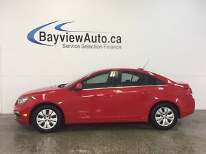 2016 Chevrolet CRUZE LTD- TURBO! AUTO! A/C! REVERSE CAM! CRUISE!